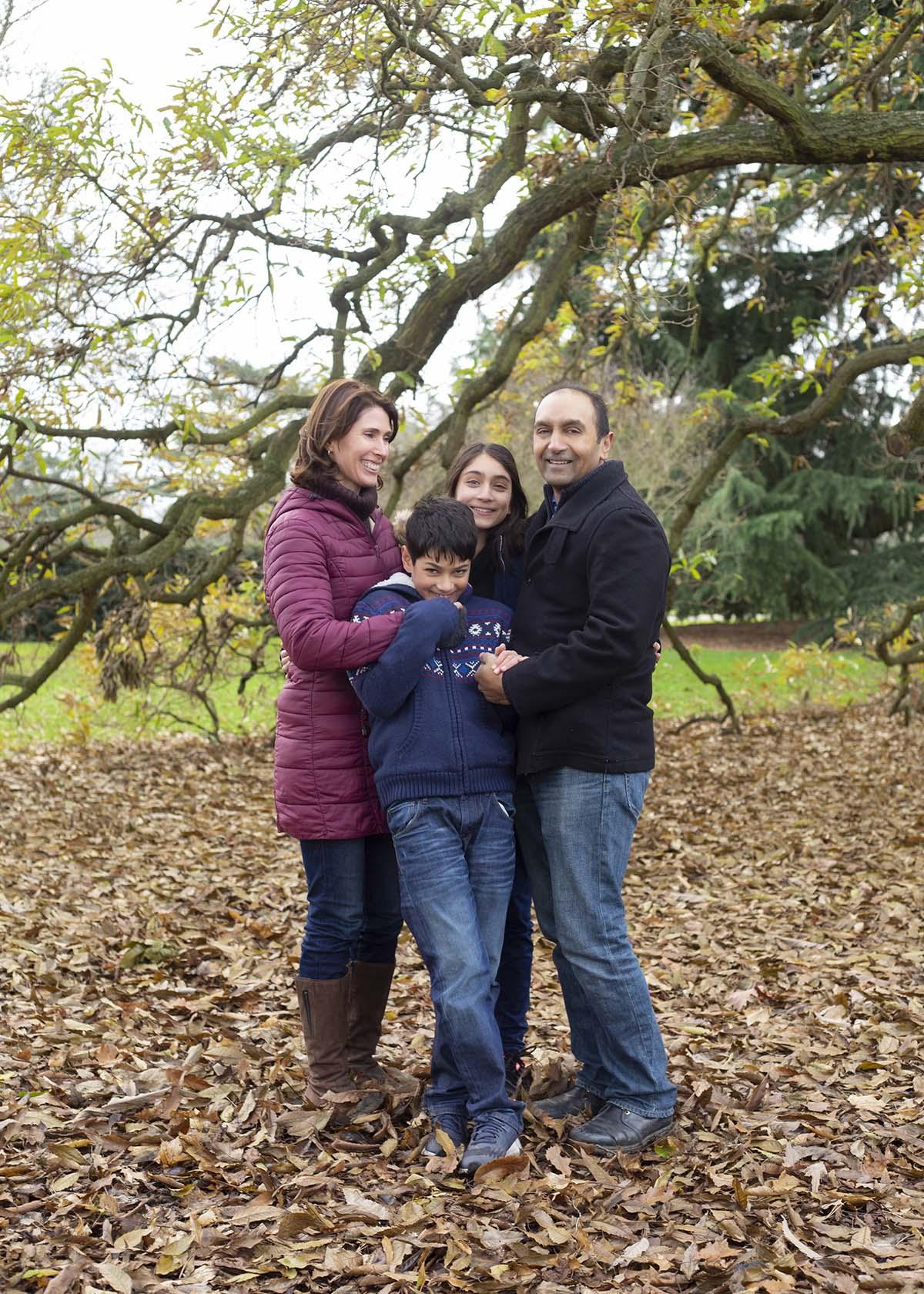 Kew Gardens family photo session