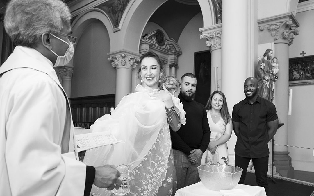 London Baptism photography and a family photoshoot | Christening Photographer