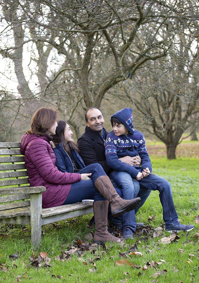 Family photoshoot in Surrey